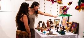 Vicuñenses aprenden técnicas de artesanía en fieltro logrando exponer sus atractivas creaciones