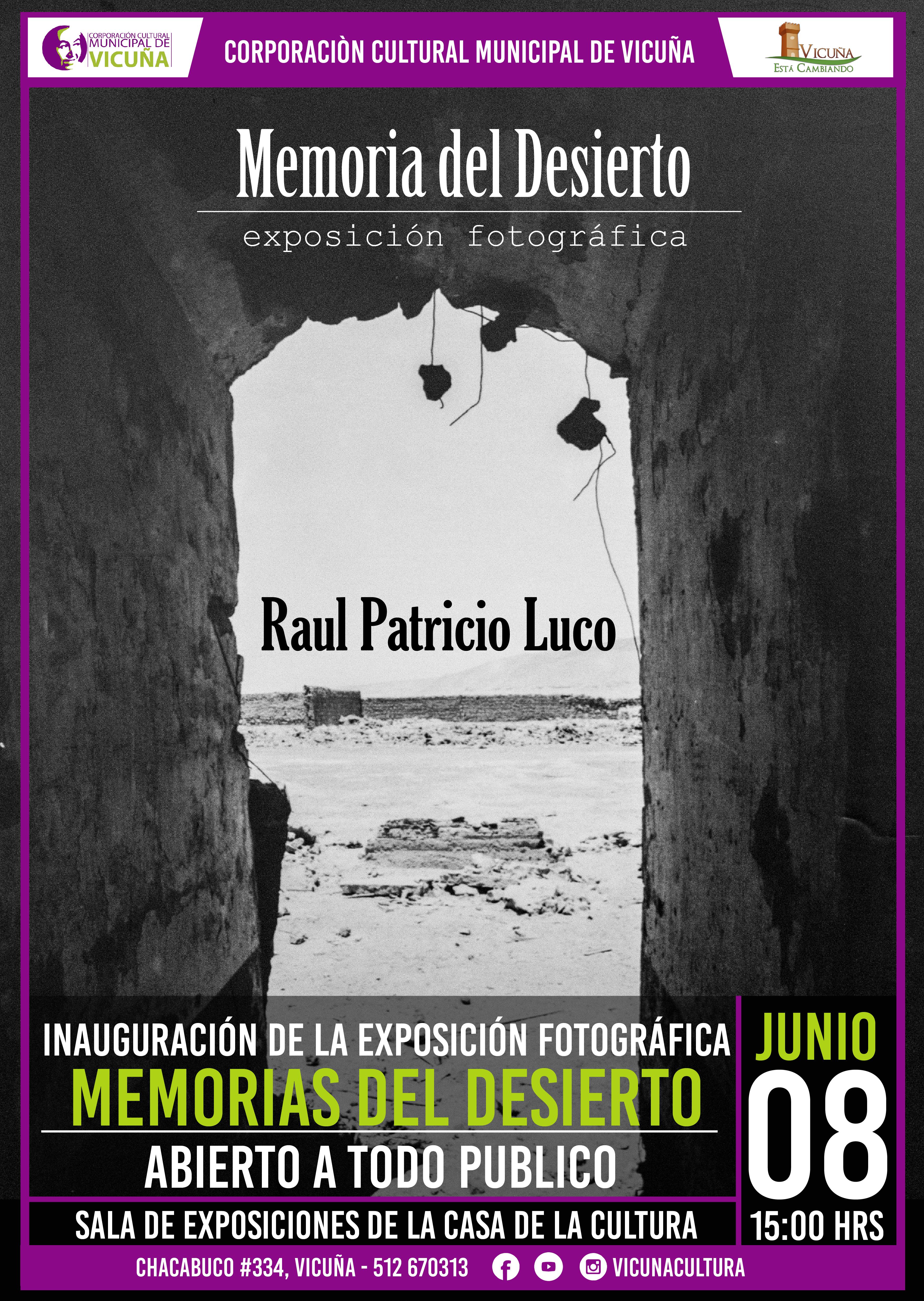 Exposición Fotográfica Retrata la Zona Salitrera del País
