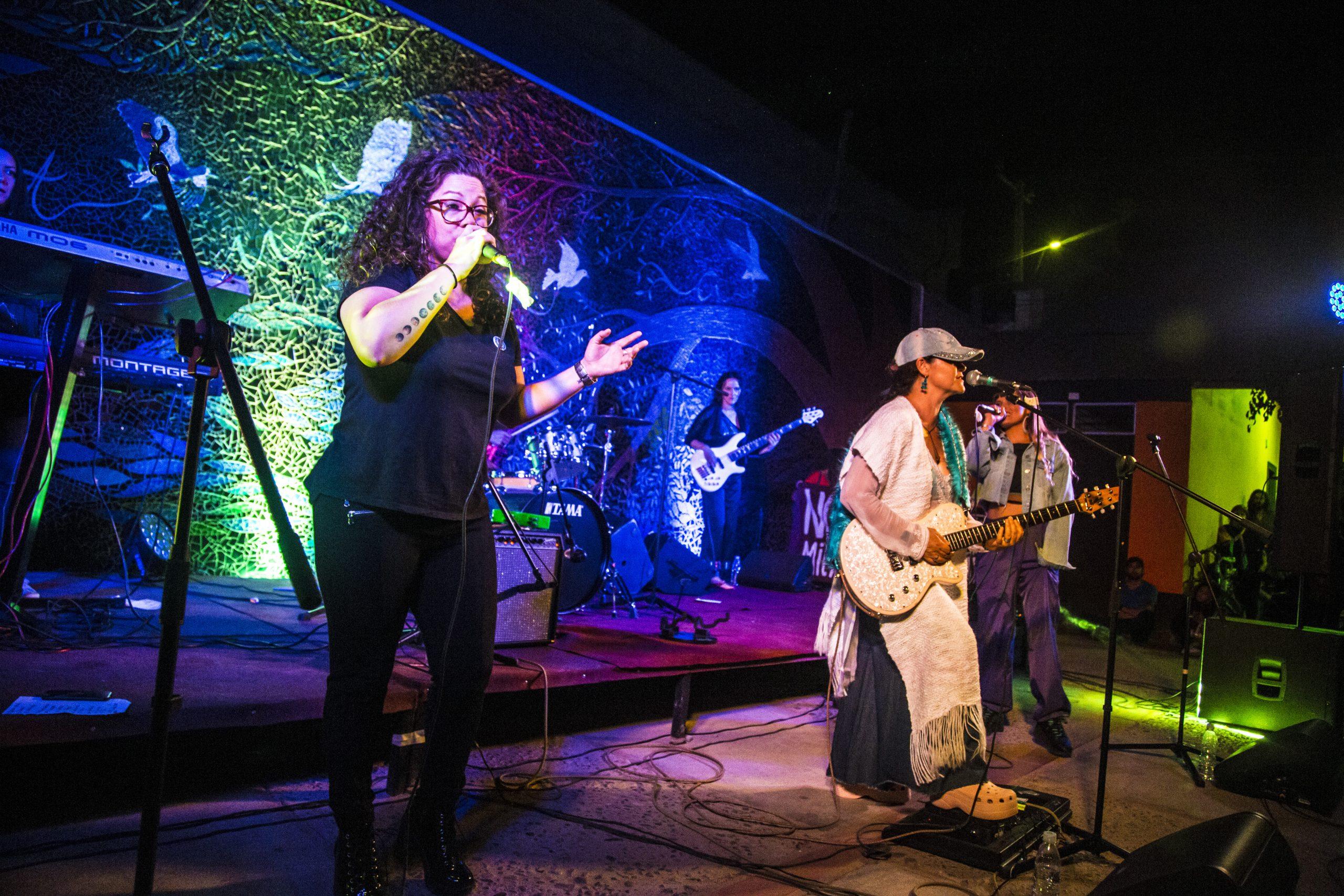 Artistas locales y «Mamma Soul» cautivaron a cientos de asistentes en Casa de la Cultura de Vicuña