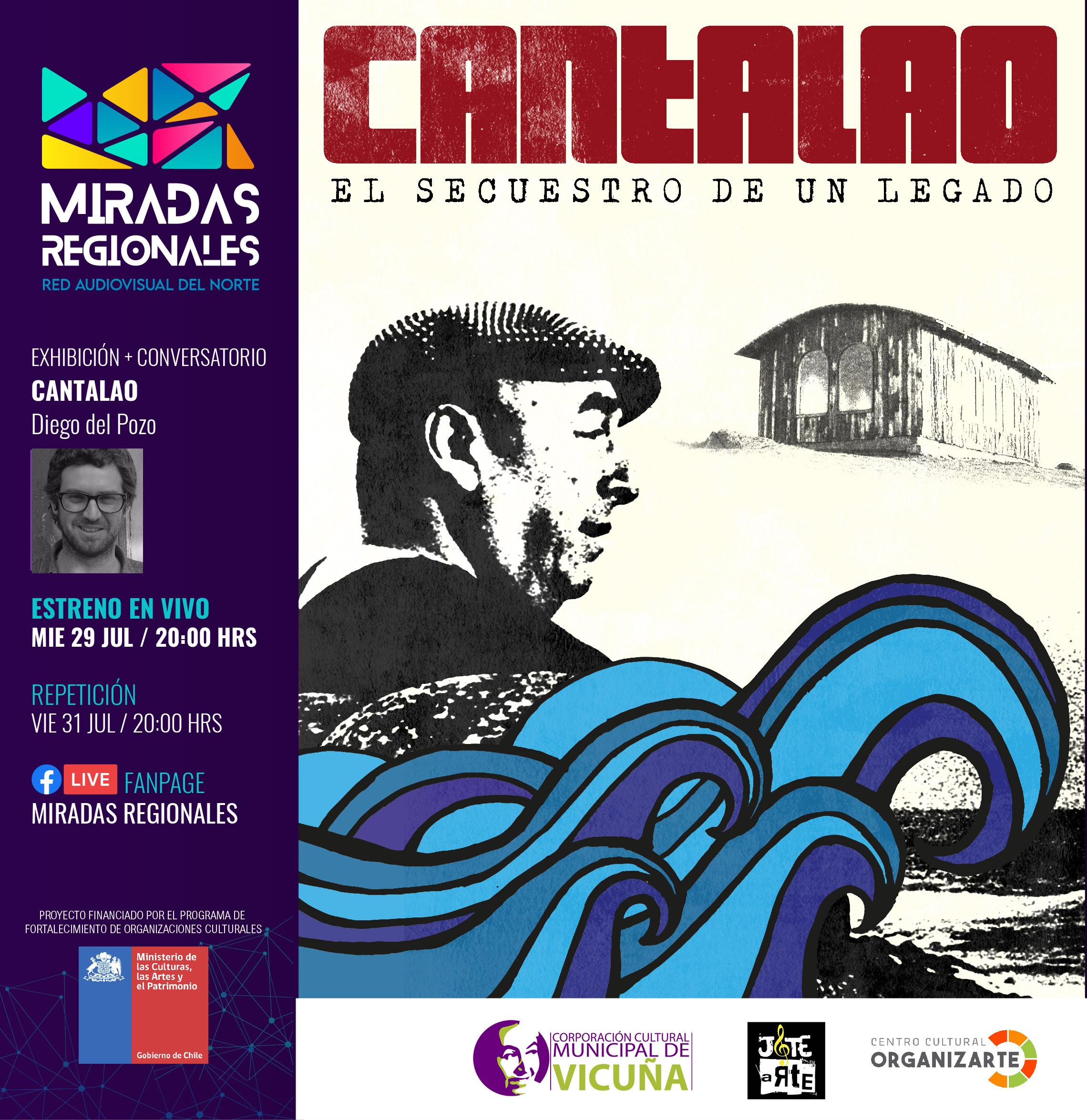 """CICLO DE CINE ONLINE MIRADAS REGIONALES PRESENTA """"CANTALAO"""", COMO ESTRENO ESTE MES DE JULIO"""