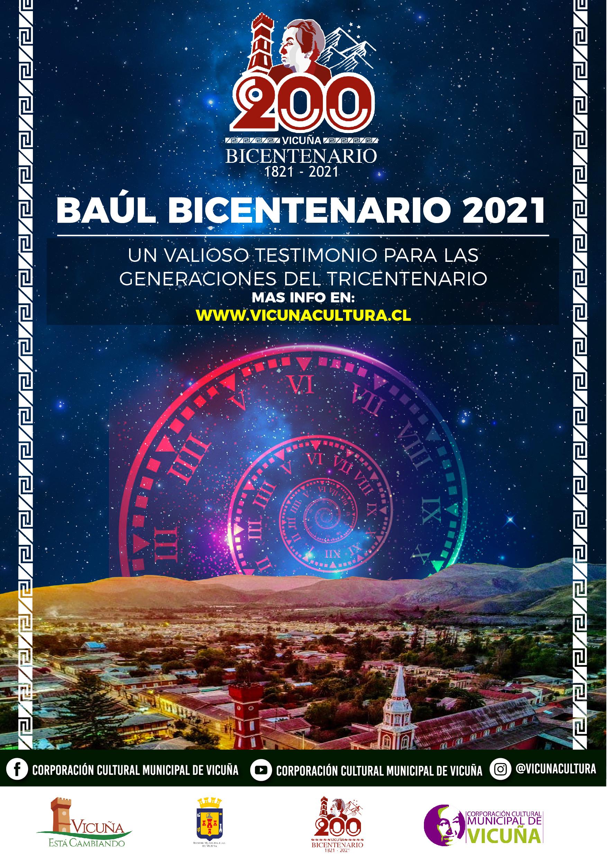Participa del Baúl del Bicentenario, Vicuña 2021