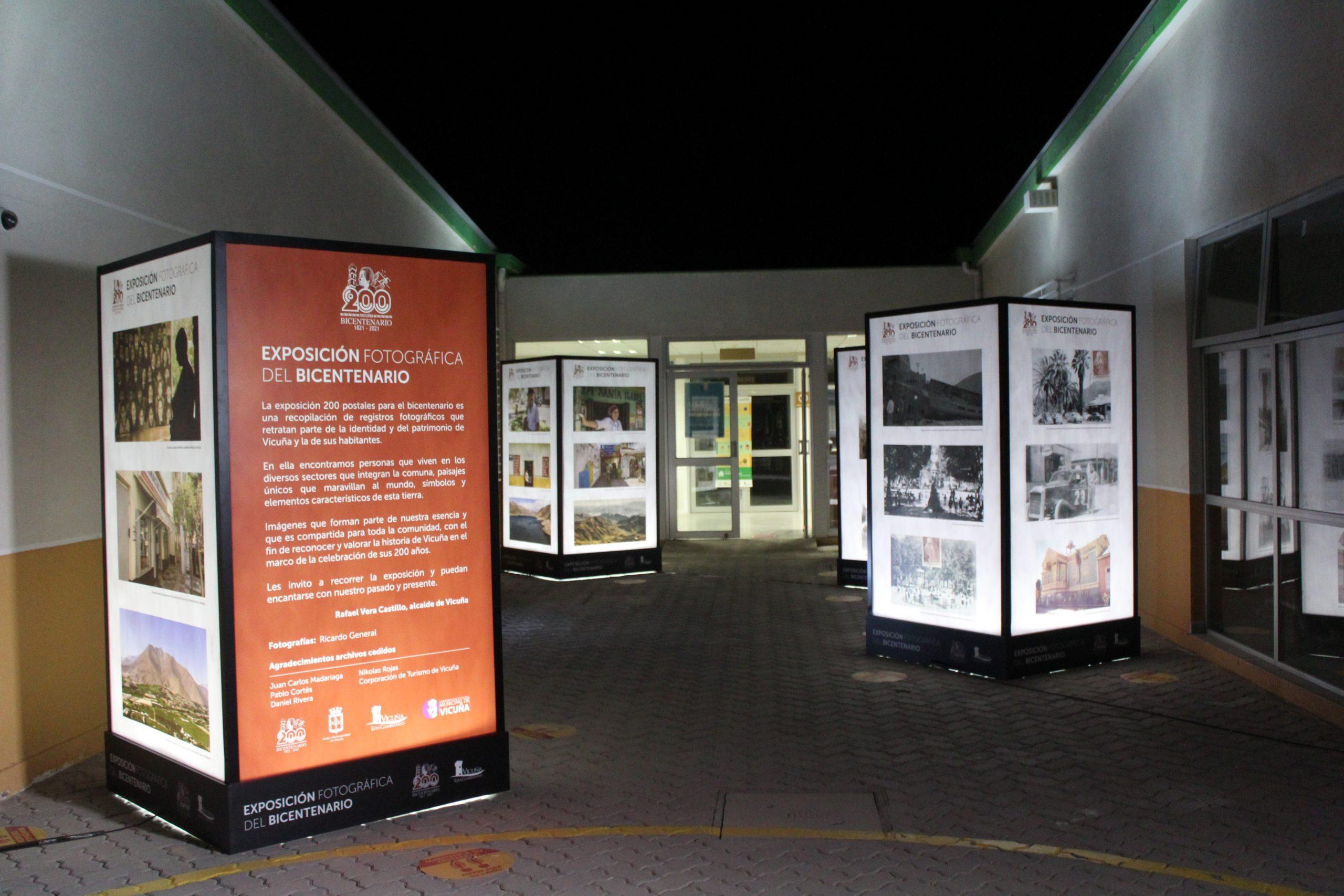 Exposición fotográfica del Bicentenario estará dispuesta con parte de su muestra en el CESFAM San Isidro-Calingasta