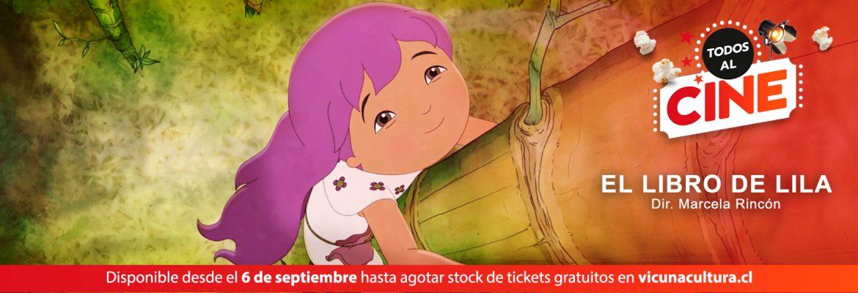 Baner Todos al Cine El libro de lila